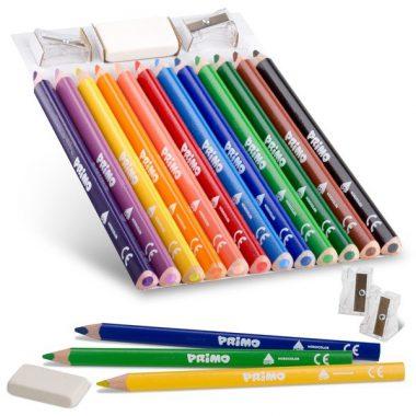 עפרונות ועפרונות צבעוניים