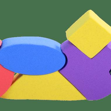 דוגמה בצק קינטי צבעים