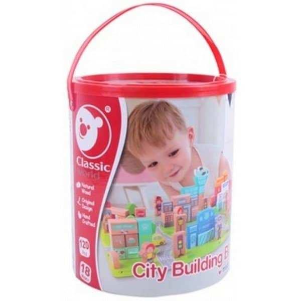 קוביות בונים עיר בדלי