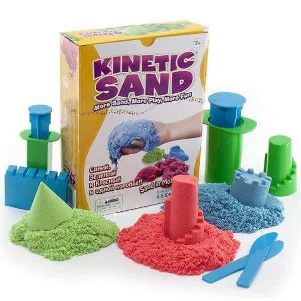 חול קינטי צבעוני