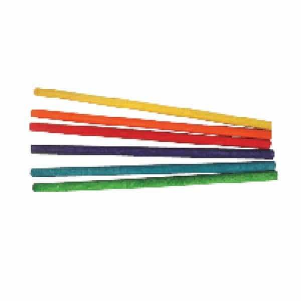 מקלות דיבל ארוכים צבעוניים