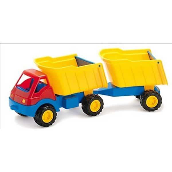 משאית גדולה 2 מיכלים דן טוי