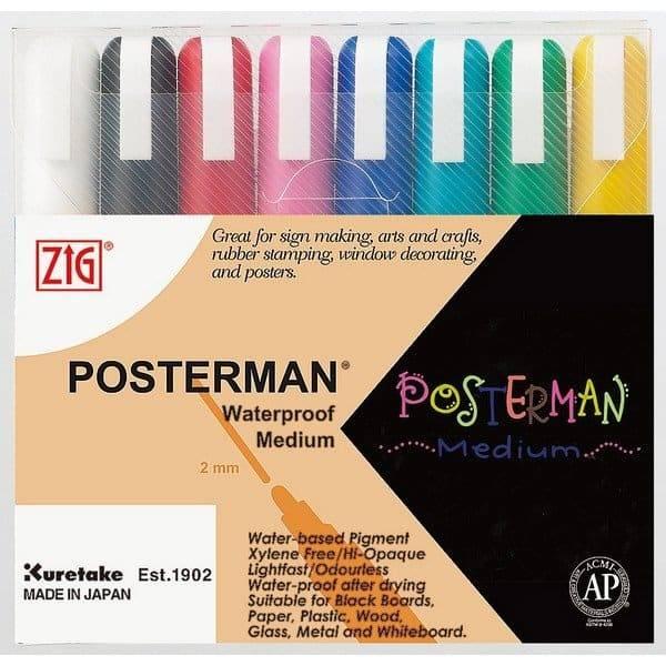 טוש פוסטרמן - ZIG