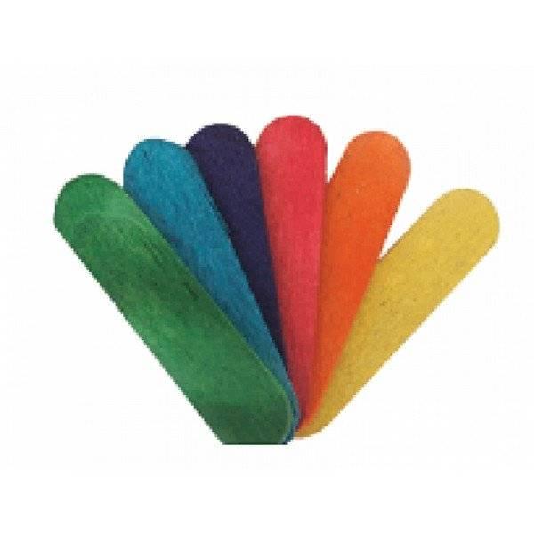 מקלות ארטיק מיני צבעוני