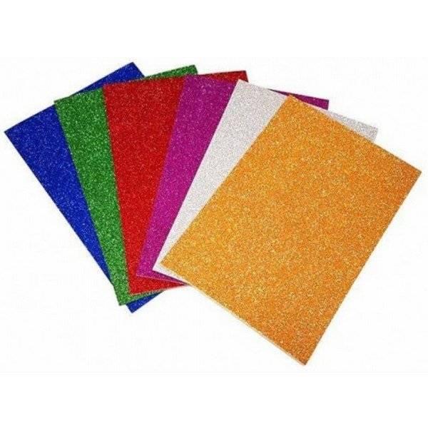 דפי סול נוצץ צבעוני