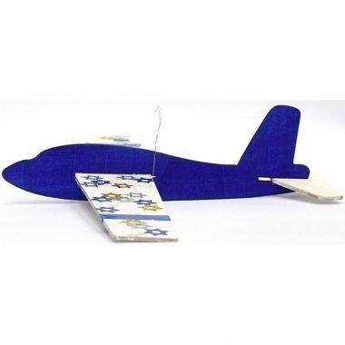 מטוס עץ ליצירה דוגמה