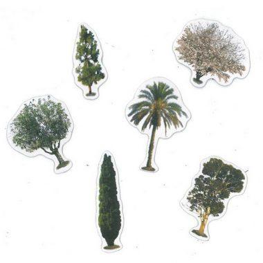מדבקות סול רך עצים בארצנו 60 יח'