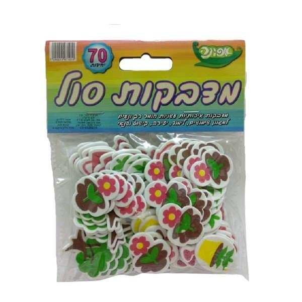 מדבקות סול ליצירה פרחים ושתיל 70 יח'