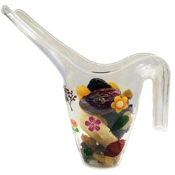 משפך פלסטיק שקוף לקישוט ויצירה