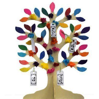 עץ מעץ ליצירה - דוגמה עץ המשאלות