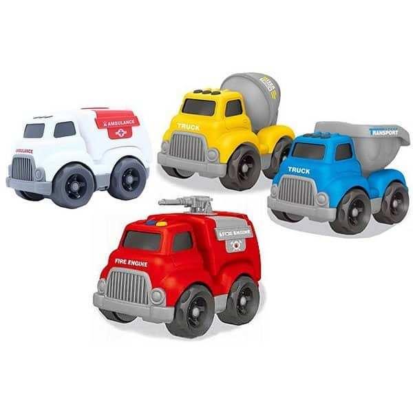 משאיות ממשחק קינטיק טראק 4 דגנים שונים