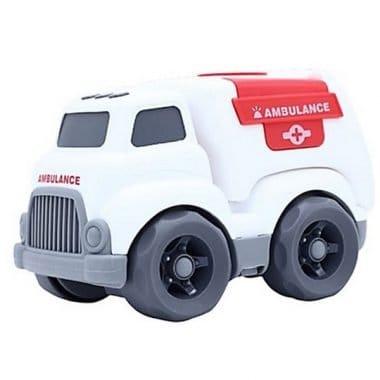 מכונית משחק אמבולנס Kinetic Truck