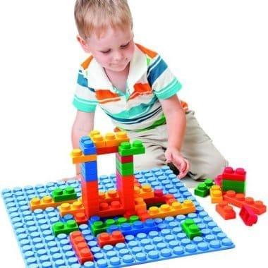 קוביות רכות למחשק ולוח ילד משחק