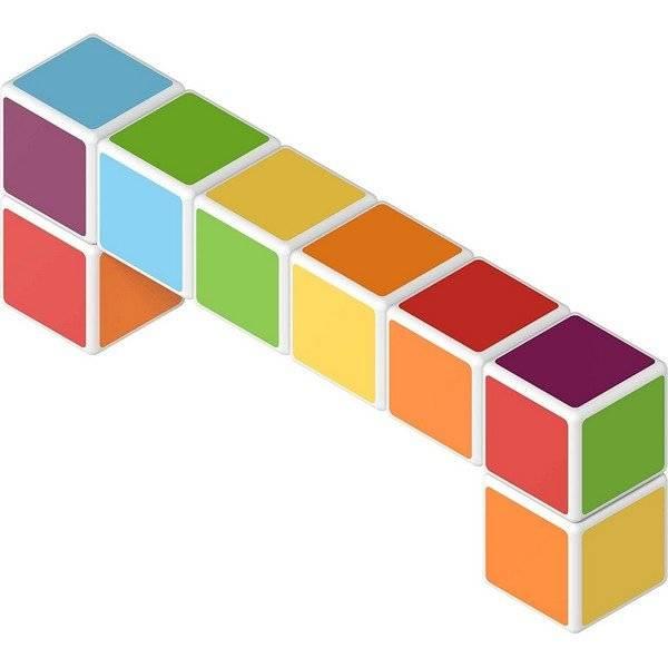 קוביות מגנט 6 צבעים 64 קוביות למשחק בתלת מימד