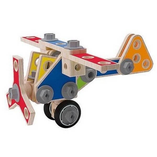 משחק הרכבה דוגמה מטוס