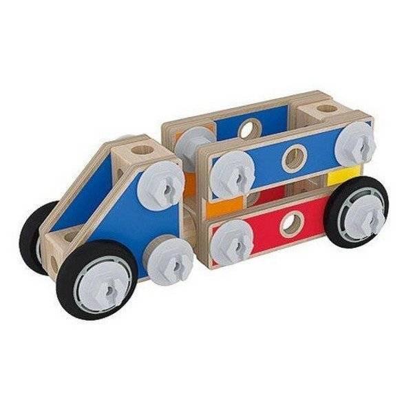 משחק הרכבת מודלים דוגמה משאית