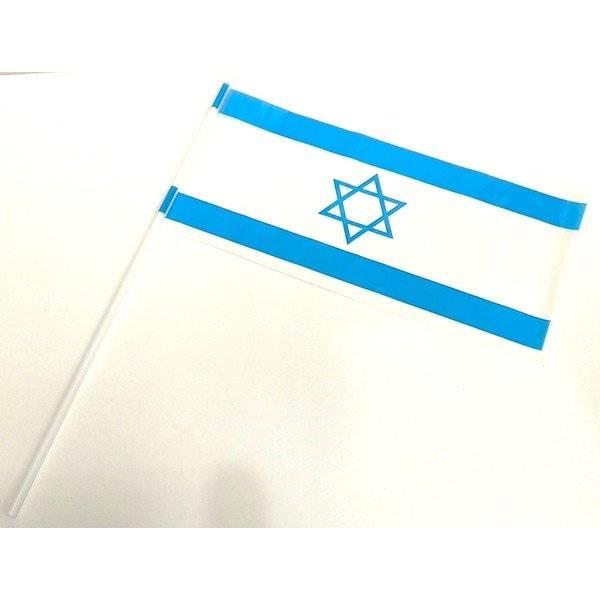 דגל ישראל על מקל 50 יחי