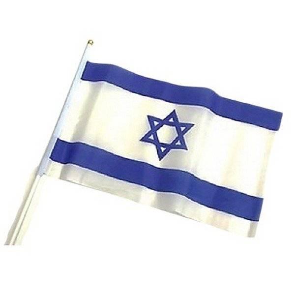 דגל בד קטן על מקל