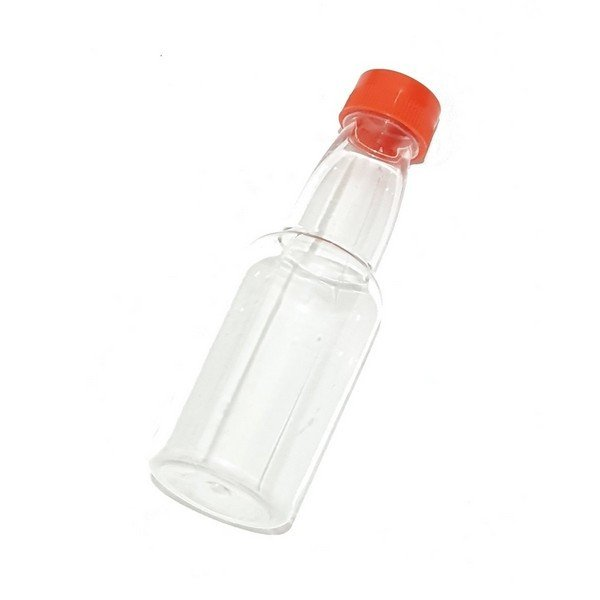 בקבוק פלסטיק שקוף
