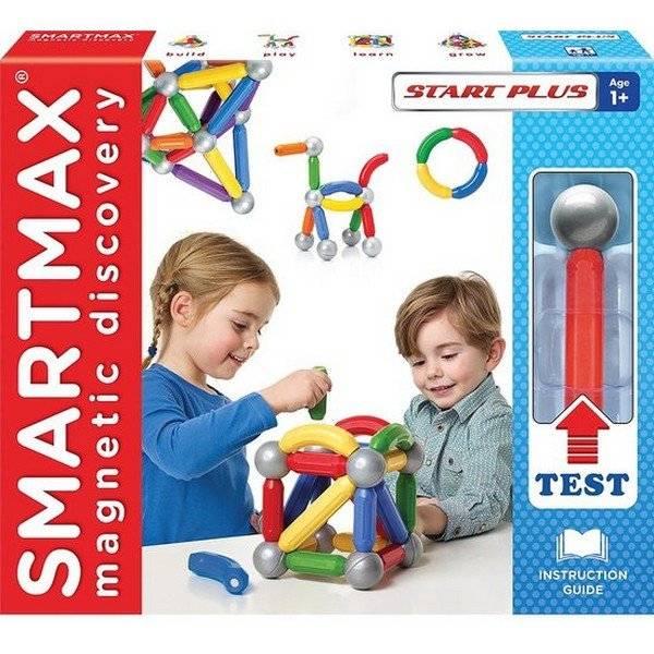 סמארטמקס משחק הרכבה מגנטי 30 חלקים