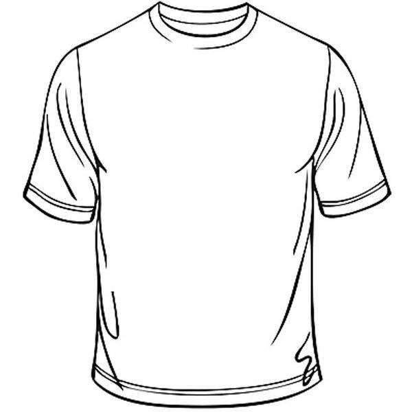חולצת טריקו לבנה ליצירה מידות שונות