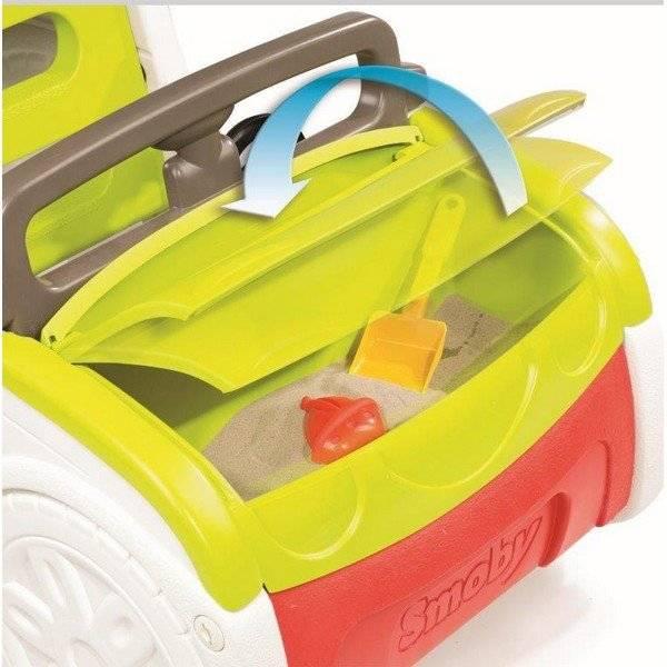 מתקן פעילות מכונית ארגז חול