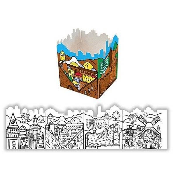 יצירה חומות העיר בתל מימד