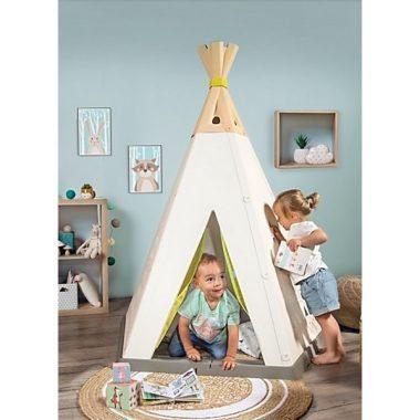 אוהל טיפי אינדיאני בחדר ילדים