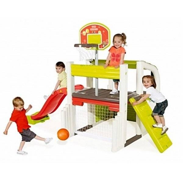 מתקן פעילות ספורת משולב לילדים