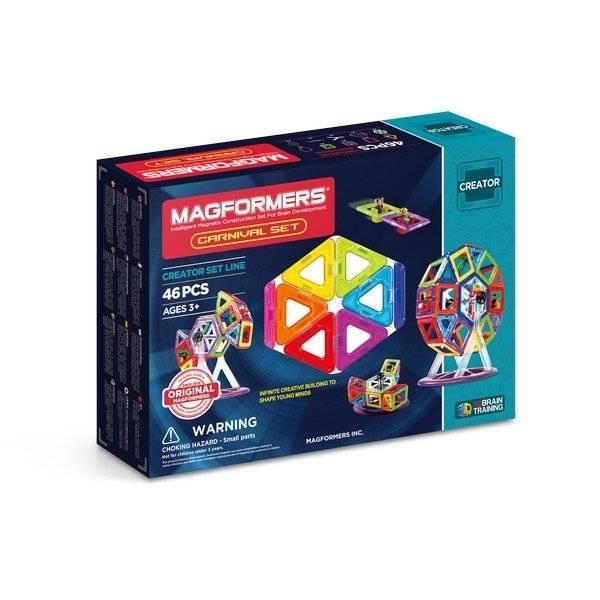 משחק מגנטי מגפרומרס 46 חלקים