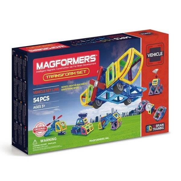 משחק מגנטים מגה פורמרס 54 חלקים