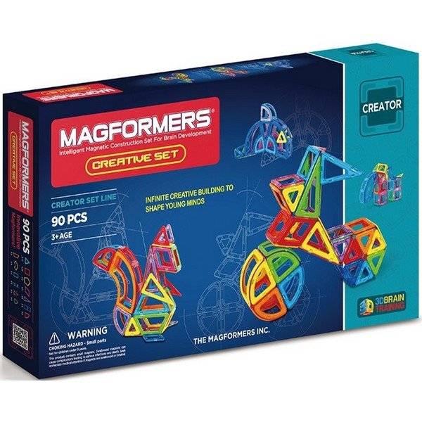 משחק מגנטים מגה פורמרס 90 חלקים