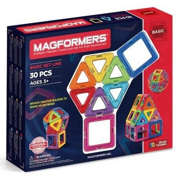 משחק מגנטי מגפורמרס 30 חלקים