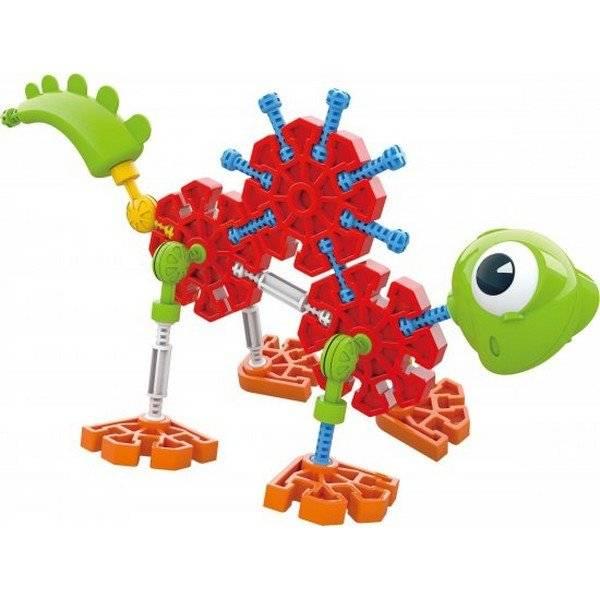 משחק הרכבה בונים בצ'יק דינוזאורים דוגמא